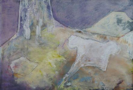 Monte Camicia Format 70 x 100 cm