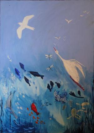 3. Tag - Gott schuf die Fische und die Vögel des Himmels