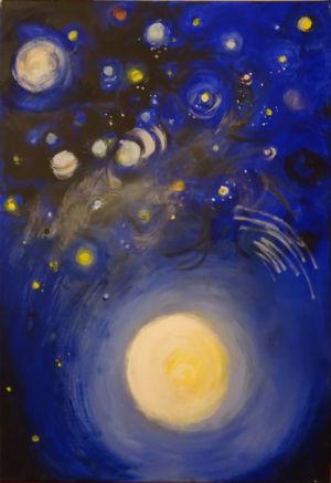 4. Tag - Gott hängte die Sterne ans Firmament